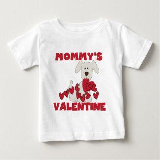 Valentijn van de Mama van de Hond van het puppy Baby T Shirts
