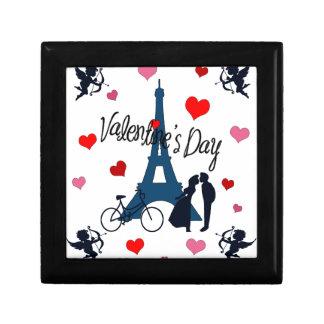 Valentijnsdag in Parijs Decoratiedoosje