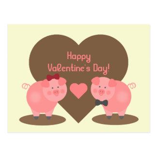 Valentijnsdag - Twee Varkens in de Vulklei & de Briefkaart