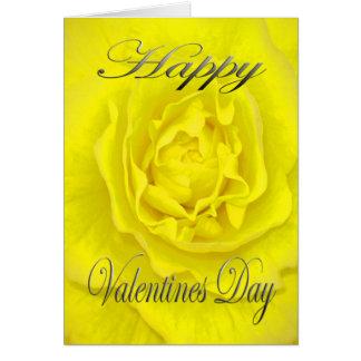 Valentijnse Bloem in Geel Briefkaarten 0