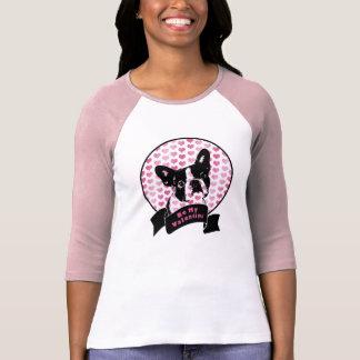 Valentijnskaarten - het Silhouet van Boston T Shirt