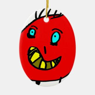 Valérian het aardige monster - Axel Stad Keramisch Ovaal Ornament