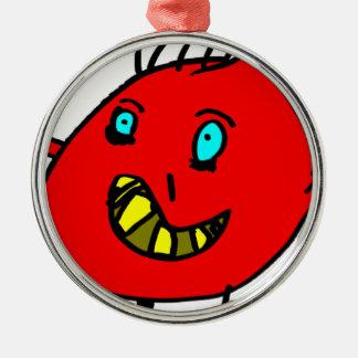 Valérian het aardige monster - Axel Stad Zilverkleurig Rond Ornament