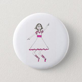 Valerie de Danser Ronde Button 5,7 Cm