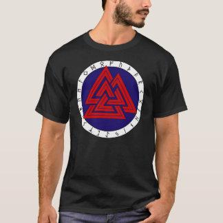 Valknot met Oudere Futhark T Shirt