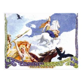 Valkyries Briefkaart