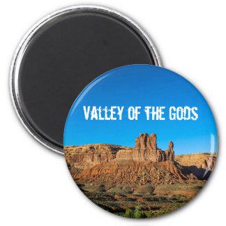 Vallei van Butte van de Hemelen van Goden Blauwe Magneet