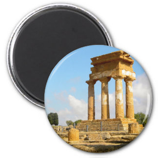 Vallei van Tempels Sicilië Magneet