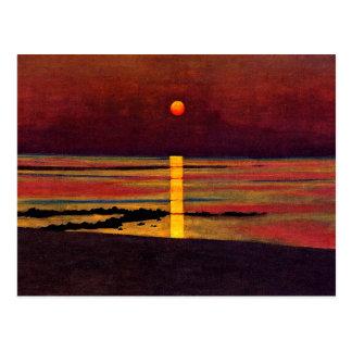 Vallotton - Zonsondergang Briefkaart