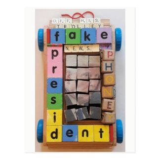 Vals President Briefkaart