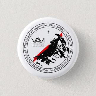 VAM: De Zwitserse Knoop van Zermatt van Matterhorn Ronde Button 3,2 Cm