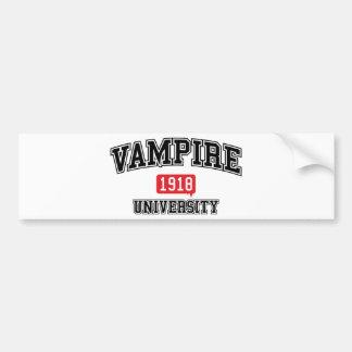 Vampier Bumpersticker