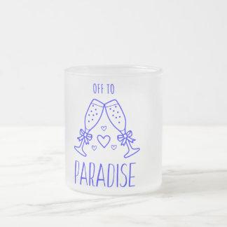 Van aan de Paradijs Berijpte Mok van het Glas