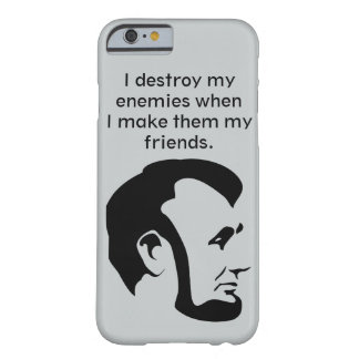 "Van Abraham het ""Abe"" Lincoln Citaat Iphone 6 Barely There iPhone 6 Hoesje"