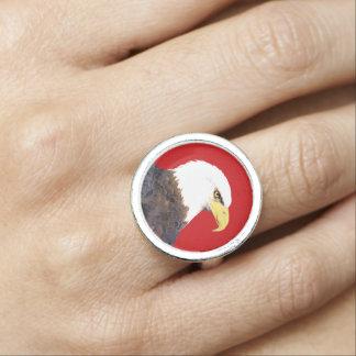 """Van """"Amerikaans Kaal Eagle"""" de Ring"""