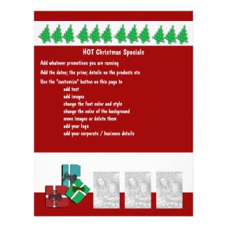 Van bedrijfs Kerstmis promotie marketing Flyer 21,6 X 27,9 Cm