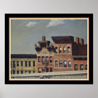 Van Brug Williamsburg door Edward Hopper Poster