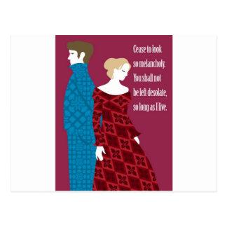 """Van Charlotte Bronte de """"Jane Eyre"""" gift met Briefkaart"""