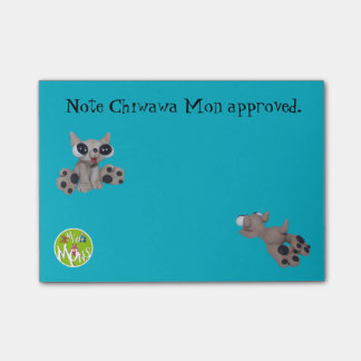 Van Chiwawa Mon Goedgekeurde post-it®- Nota's 4 x Post-it® Notes