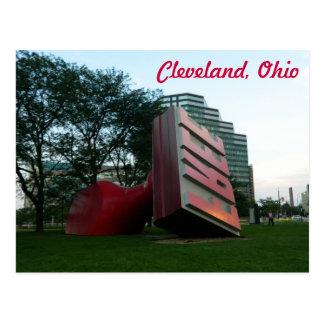 Van Cleveland (Vrij Oriëntatiepunt) het Briefkaart