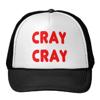 Van Cray het Grappige Internet Memes Rood van Cray Trucker Pet