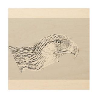 """van de 30.5 cm x 30.5 (12"""" X12"""") van de Houten Hout Prints"""