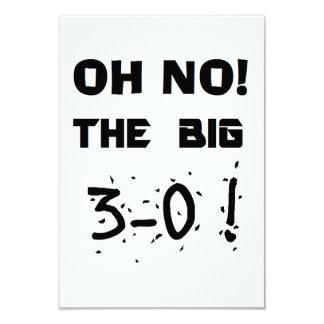 """van de """"30ste Verjaardag"""" de Uitnodigingen"""