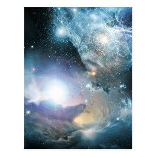 Van de as van de eerste sterren briefkaart