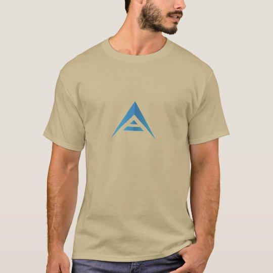 Van de BAK het muntstuk (blauw logo) T-shirt