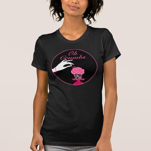 Van de Bedrijfs bakkerij van Cupcake van de DOUANE T-shirts