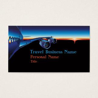 Van de bedrijfs reis Visitekaartje Visitekaartjes
