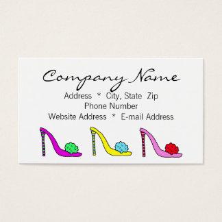 Van de Bedrijfs schoenen van de Schoenen van Visitekaartjes