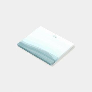 Van de bleke Golven van de Waterverf Aqua Post-it® Notes