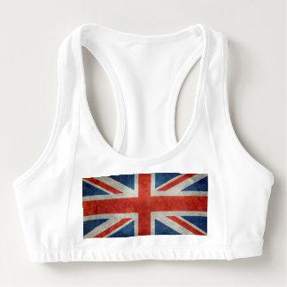 van de Britse Britse Union Jack de Sport BH