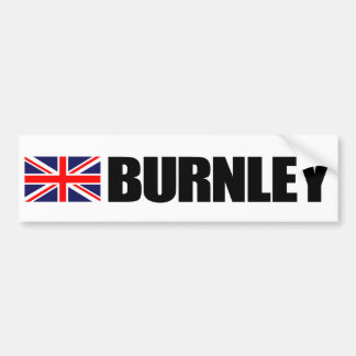 Van de Britse van Burnley de Sticker Bumper van de