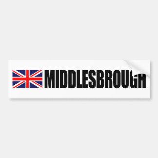 Van de Britse van Middlesbrough de Sticker Bumper