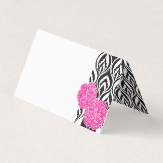 Van de de anjer grafische gast van Luxe roze de Plaatskaart