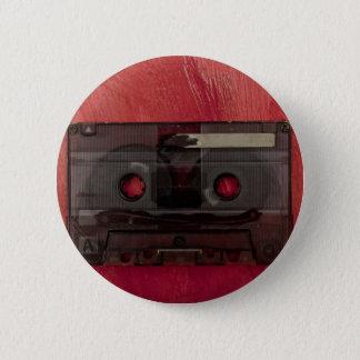 Van de de bandmuziek van de cassette het vintage ronde button 5,7 cm