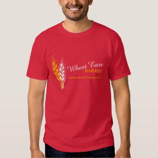 Van de de bedrijfs oren grafische bakkerij van de shirt