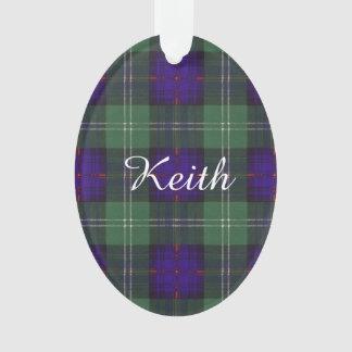 Van de de clanPlaid van Keith het Schotse geruite Ornament