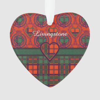 Van de de clanPlaid van Livingstone het Schotse Ornament