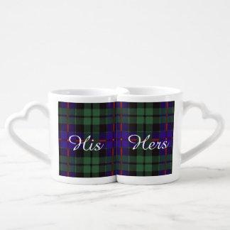 Van de de clanPlaid van Morrison het Schotse Mok