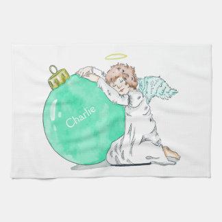 Van de de douanenaam van de Engel van Kerstmis de Theedoek