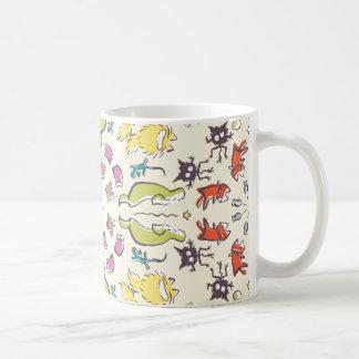 Van de de kattenmus van de hond de Kleurrijke Koffiemok