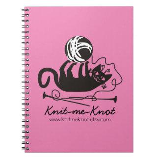 Van de de kleuren grappig zwart kat van de douane notitieboek