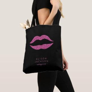 Van de de kunstenaarssalon van de make-up zwarte draagtas