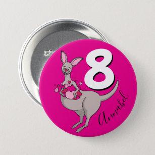 8ste Verjaardag Buttons Zazzle Nl