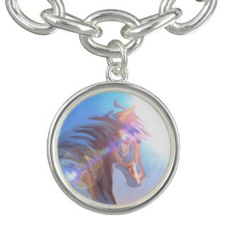 Van de de meisjescharme van het wild paard paars armbandjes