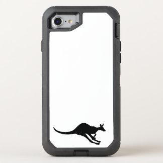 van de de pretvreugde van het kangoeroe leuke baby OtterBox defender iPhone 8/7 hoesje