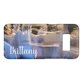 Van de de prinsesbus van Sparkly de gouden blauwe Case-Mate Samsung Galaxy S8 Hoesje
